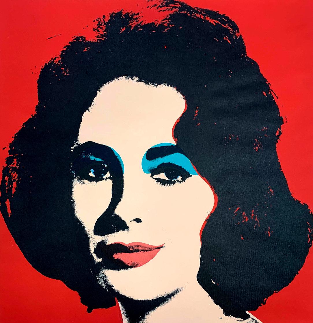 Liz II 7 1964 Limited Edition Print by Andy Warhol