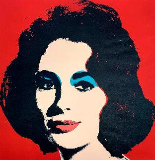 Liz 1960 Limited Edition Print - Andy Warhol