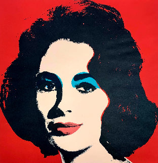 Liz II 7 1964 Limited Edition Print - Andy Warhol