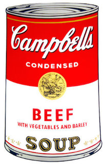 Beef Soup 1968 FS II.47   Limited Edition Print by Andy Warhol