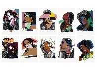 Ladies And Gentlemen (Portfolio of 10) 1975, FS II.128 – 137   Limited Edition Print by Andy Warhol - 9
