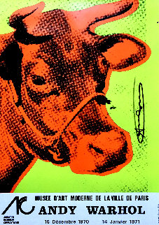 Cow Wallpaper Poster HS 1970 Limited Edition Print by Andy Warhol