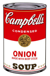 Onion Soup 1968 Limited Edition Print - Andy Warhol