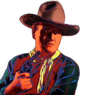 John Wayne 1986 fs II.377 Limited Edition Print - Andy Warhol