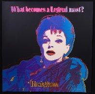 Ads Series: Judy Garland Blackglama   II.351   1985  Limited Edition Print by Andy Warhol - 1