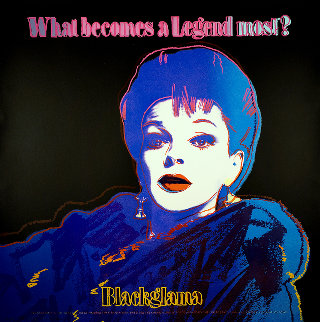 Ads Series: Judy Garland Blackglama   II.351   1985  Limited Edition Print - Andy Warhol