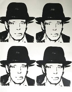 Joseph Beuys 1978 Limited Edition Print - Andy Warhol
