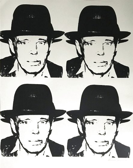 Joseph Beuys 1978 Limited Edition Print by Andy Warhol