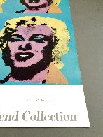 Four Marilyns 1985 Hand Signed Original Pop Art Poster Limited Edition Print by Andy Warhol - 5