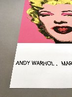 Marilyn (Tate Gallery) 1987 Hand Signed Poster Limited Edition Print by Andy Warhol - 3