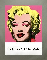Marilyn (Tate Gallery) 1987 Hand Signed Poster Limited Edition Print by Andy Warhol - 1