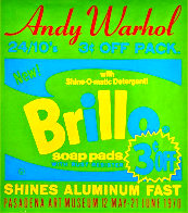 Brillo Soap Pads - Pasadena Art Museum Poster 1970 Limited Edition Print by Andy Warhol - 2