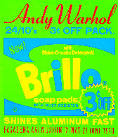 Brillo Soap Pads - Pasadena Art Museum Poster 1970 Limited Edition Print by Andy Warhol - 0