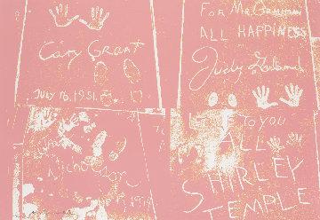 Sidewalk 1983 Limited Edition Print - Andy Warhol