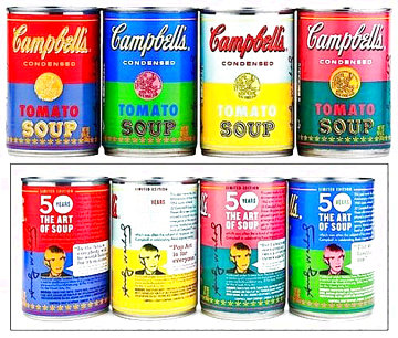 50th Anniversary 4 Campbell's Soup Can 2004 Limited Edition Print - Andy Warhol