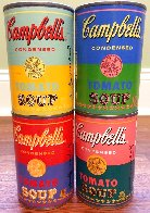 50th Anniversary 4 Campbell's Soup Can 2004 Limited Edition Print by Andy Warhol - 1