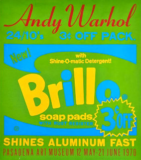 Brillo Soap Pads 1970 Limited Edition Print - Andy Warhol