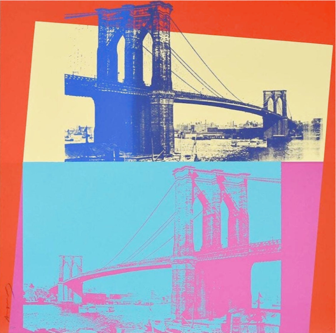 Brooklyn Bridge, Fs 11.290 1983 Limited Edition Print by Andy Warhol