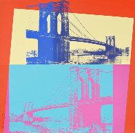 Brooklyn Bridge, Fs 11.290 1983 Limited Edition Print by Andy Warhol - 0