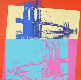 Brooklyn Bridge, Fs 11.290 1983 Limited Edition Print - Andy Warhol