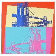 Brooklyn Bridge, Fs 11.290 1983 Limited Edition Print by Andy Warhol - 1