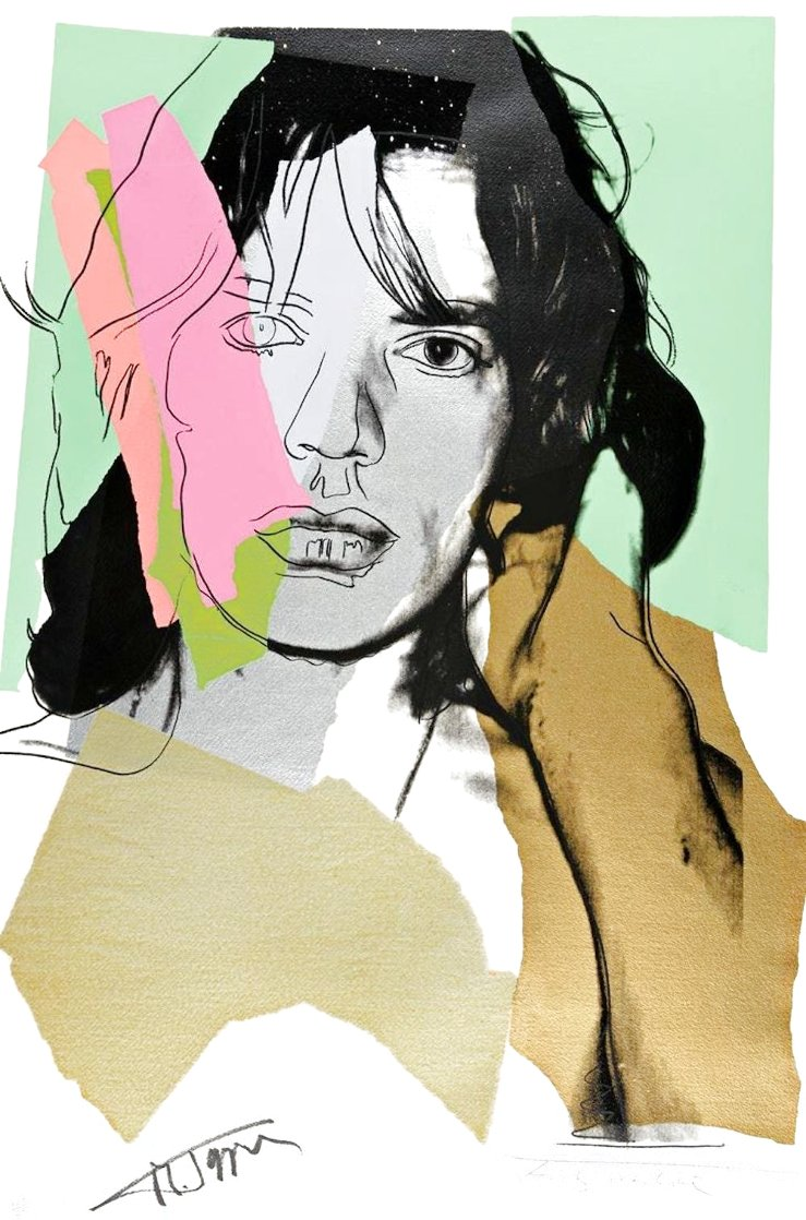 Mick Jagger Fs 11.140 1975 Limited Edition Print by Andy Warhol
