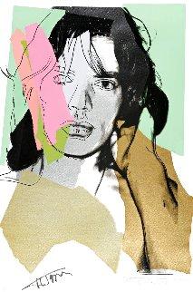 Mick Jagger Fs 11.140 1975 Limited Edition Print - Andy Warhol