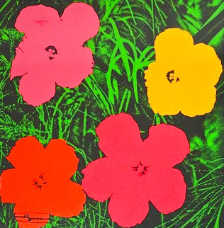 Flowers 1964 Limited Edition Print - Andy Warhol