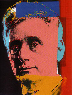 Jews: Louis Brandeis   II.230 1980 Limited Edition Print by Andy Warhol