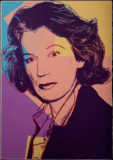 Mildred Scheel  II.238 1980 Limited Edition Print by Andy Warhol