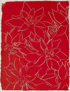 Poinsettias F. & S. IIIA.50b 1983 Limited Edition Print by Andy Warhol
