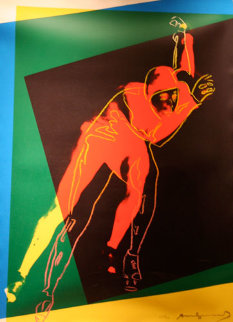 Speed Skater II.303  TP 1983 Limited Edition Print - Andy Warhol