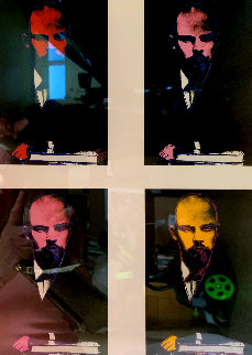 Lenin Poster (Rare) Limited Edition Print by Andy Warhol