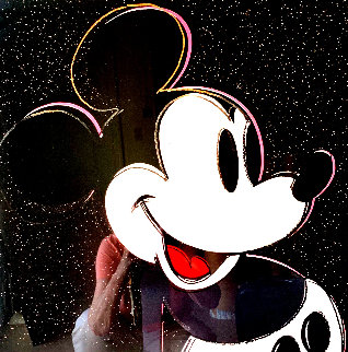 Mickey Mouse Poster (Rare) Limited Edition Print by Andy Warhol