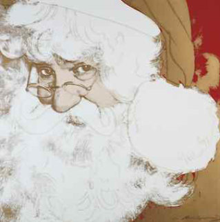 Myths: Santa Clause II.266 1981 Limited Edition Print by Andy Warhol