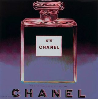 Ads: Chanel FS II.354 1985 Limited Edition Print by Andy Warhol