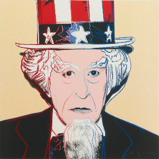 Myths: Uncle Sam FS II.259 1981 Limited Edition Print - Andy Warhol