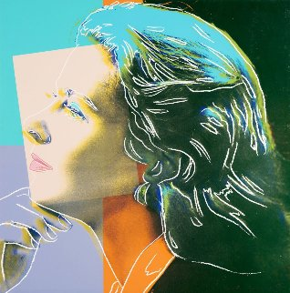 Ingrid Bergman - Herself Fs Ii.313 AP 1983 Limited Edition Print - Andy Warhol