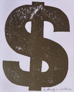 $ Dollar FS II.277  1982 Limited Edition Print by Andy Warhol