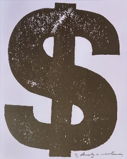 $ Dollar FS II.277  1982 Limited Edition Print - Andy Warhol