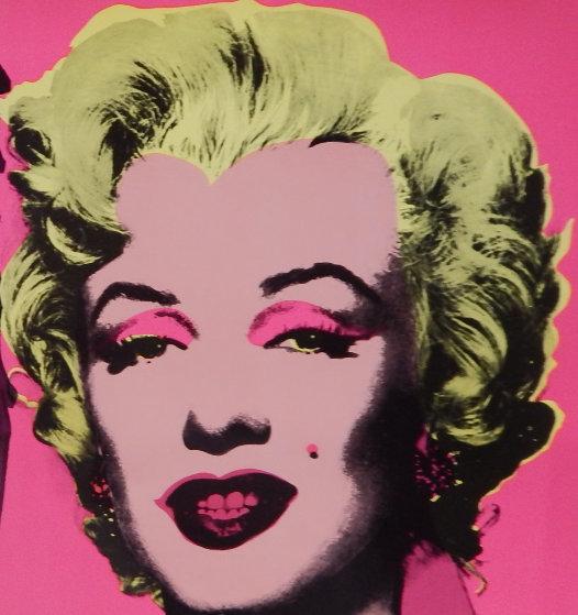 Marilyn Castelli Invitation Card 1981 Other by Andy Warhol