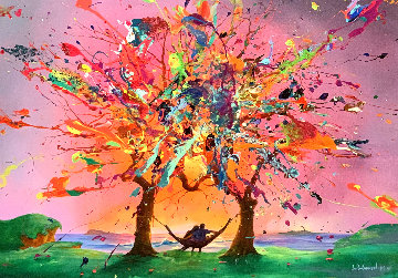 Trees of Love AP Limited Edition Print by Jim Warren