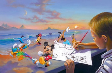 Dream Maker Limited Edition Print - Jim Warren