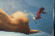 On  the Slopes 1986 25x31 Original Painting by Jim Warren - 3
