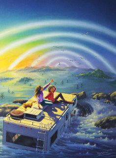 Flood 1989 28x22 Original Painting by Jim Warren