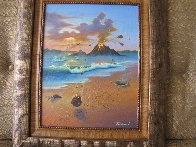Love Conquers All 2006 23x26 Original Painting by Jim Warren - 1