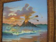 Love Conquers All 2006 23x26 Original Painting by Jim Warren - 2
