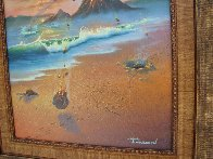 Love Conquers All 2006 23x26 Original Painting by Jim Warren - 3
