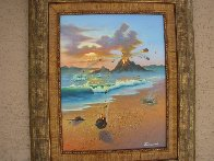 Love Conquers All 2006 23x26 Original Painting by Jim Warren - 7