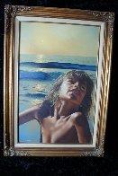 All Summer Long 1979 26x36 Original Painting by Jim Warren - 1